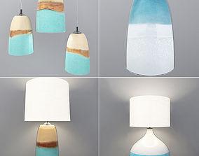 3D Lamps set