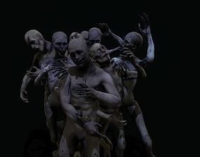 Horror Corpses 3D asset