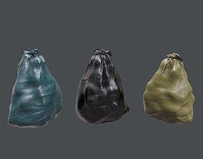Trash Bag 3D asset game-ready