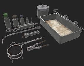 Torture Equipments 3D model