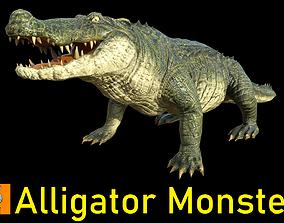 Monster-- Alligator -- 3D model