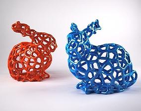 Voronoi Rabbit 3D printable model