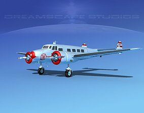 3D Lockheed L10 Electra Trans World
