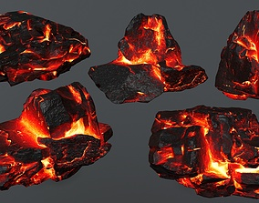 3D model Rock set 4