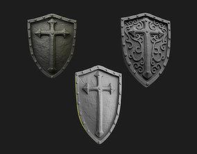 3D printable model Medieval Weapons Shield Pack