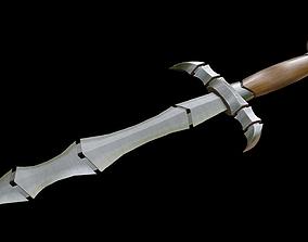 3D model Dagger Segmented