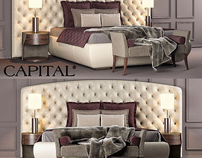 CAPITAL COLLECTION BED KESY XL 3D model