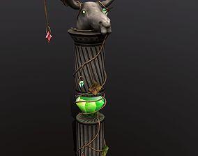 3D asset column elk