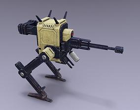 Chickenbot 3D asset