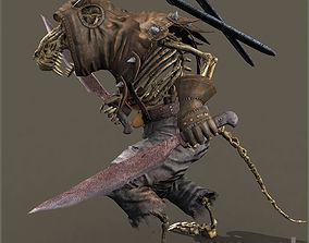 3D asset animated Ratkin Rogue