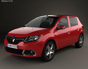 3D model Renault Sandero BR-RU 2014