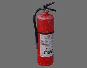 Fire Extinguisher 1B 3D asset