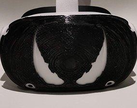 Oculus Quest 2 Front Cover Venom 3D printable model