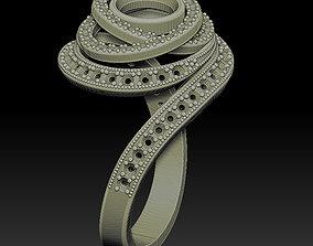 3D printable model Designer Ring
