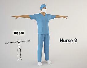Nurse 2 3D model
