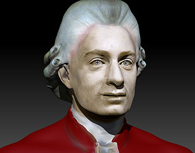 print Mozart Face Reconstruction 3d model