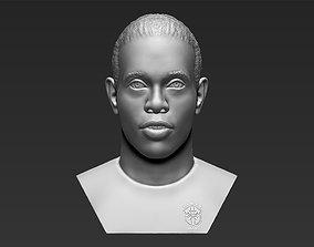 Ronaldinho bust 3D printing ready stl obj