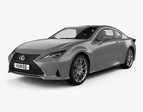 Lexus RC 2019 3D model