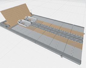 3D print model -MHB03F- Mecha Hangar Bay 03 Launcher