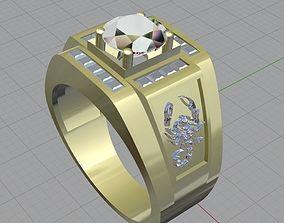 3D print model ring male