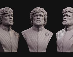 Tyrion Lannister bust 2 3D print model