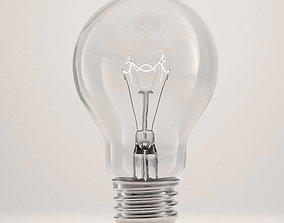 3D model Incandescent light bulb modern
