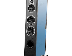 Sonus faber Chameleon T Metal Blue 3D model