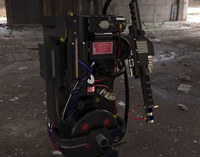 Ghostbusters Proton Pack 3D asset