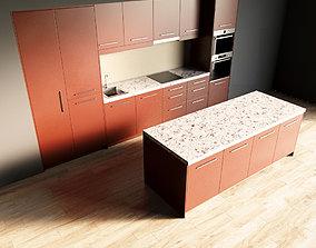 3D model 43-Kitchen7 matte 4