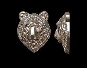 3D print model Bear relief for pendant