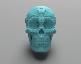 Mexican Sugar Skull 3D print model