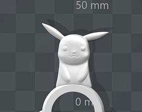 3D print model Pokemon Fidget Spinner Pikachu