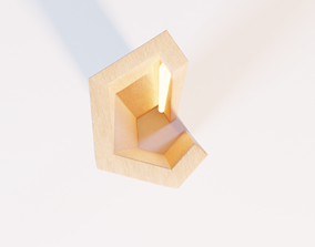 3D asset Elagone lamp small by Elomax