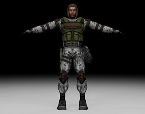 Stalker - Monolith Soldier 03 3D model