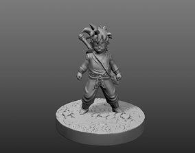 3D print model Gohan hijo de goku