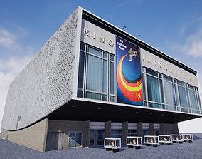 Cinema Kino International in East Berlin 3D model