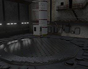 3D Chernobyl RBMK-1000 Nuclear Reactor Central Hall