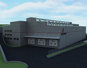 3D architectural WAREHOUSE 1