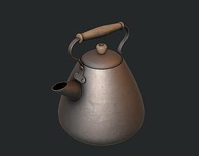 3D asset Iron Kettle