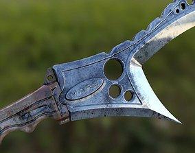 3D Alien MARS knife weapon