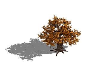 3D Plant - yellow tree