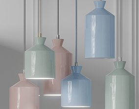 3D BHUTI Ceramic Pendant Lamps