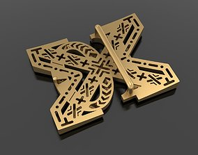 Buckle U 3D print model