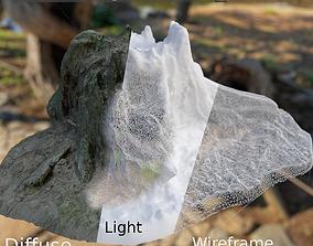 3D asset Sandy Treestump Gamready
