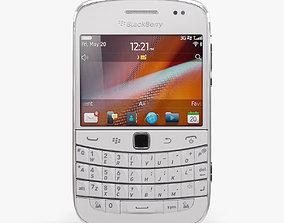 3D model BlackBerry 9900 Pure White