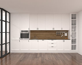 3D model Kitchen NEO CLASSICAL