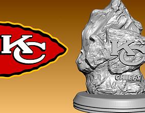 Statue The Kansas City Chiefs - NFL - model 3d print - 2
