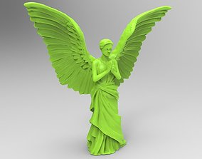 Angel 3D printable model wings