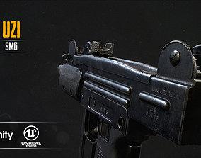 3D model realtime Mini UZI