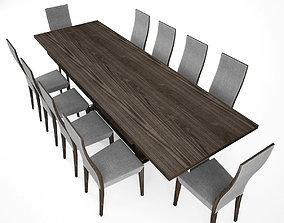 3D Dinner Table Set set